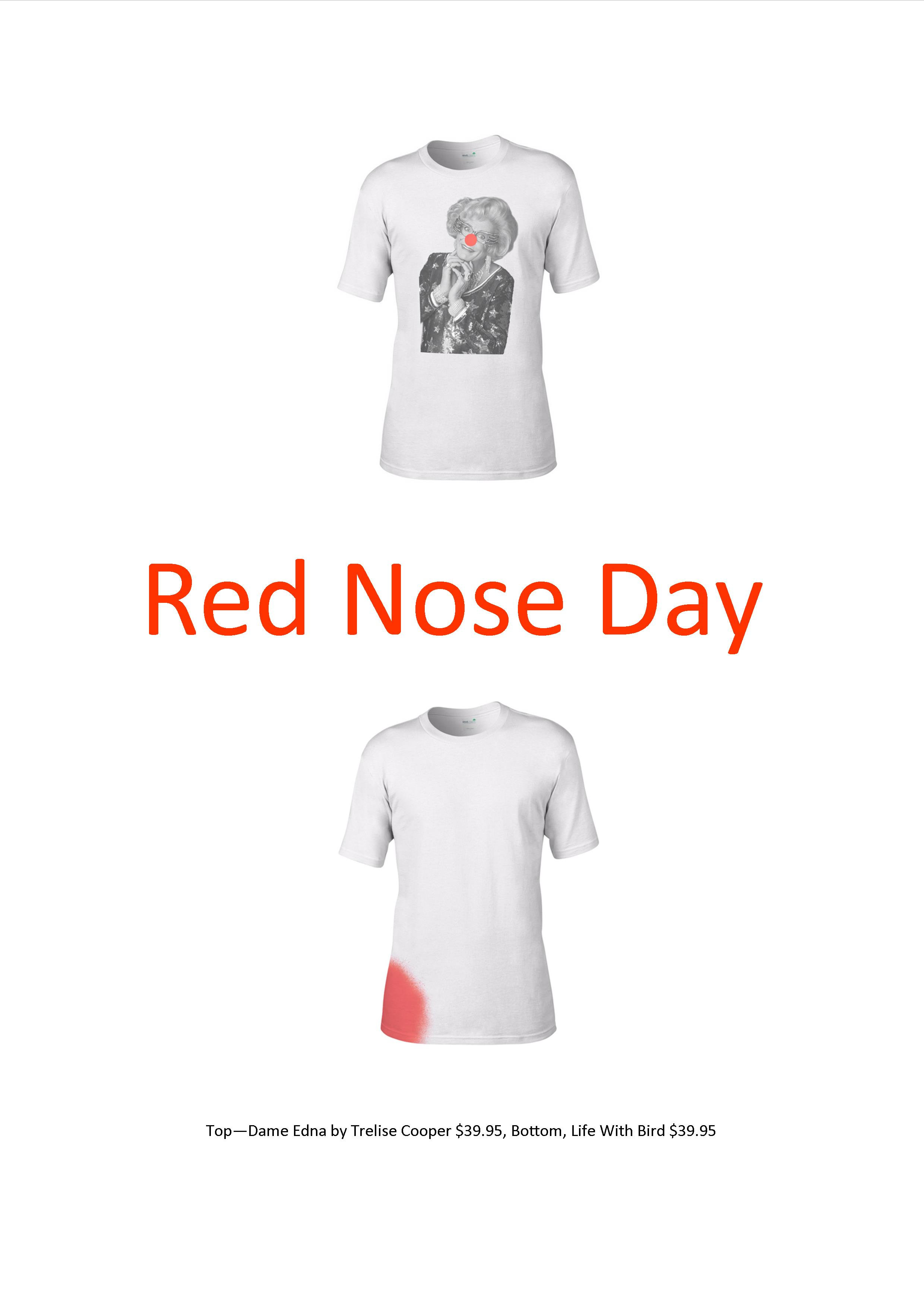 Red Nose Day is tomorrow
